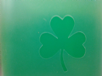 2 x Shamrock face painting stencils 6 Nations rugby reusable many times  St Patricks Day  Ireland Irish